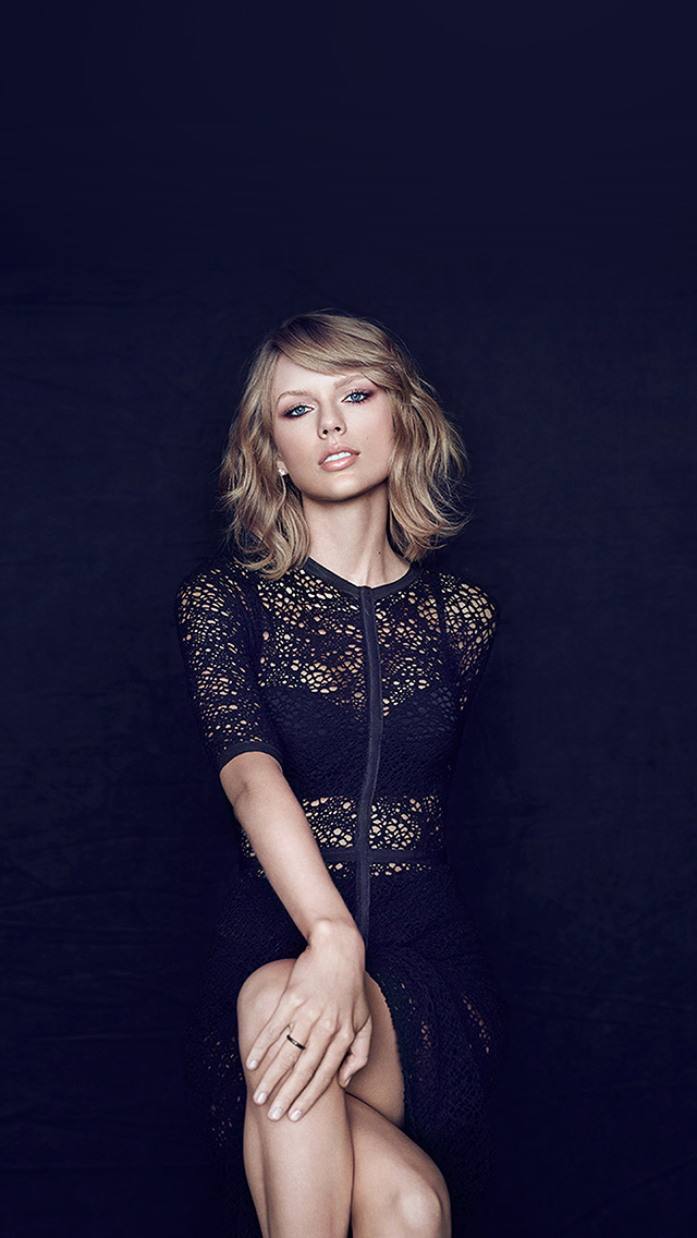 freeios8.com-iphone-4-5-6-plus-ipad-ios8-hs83-music-dark-blue-taylor-swift-girl