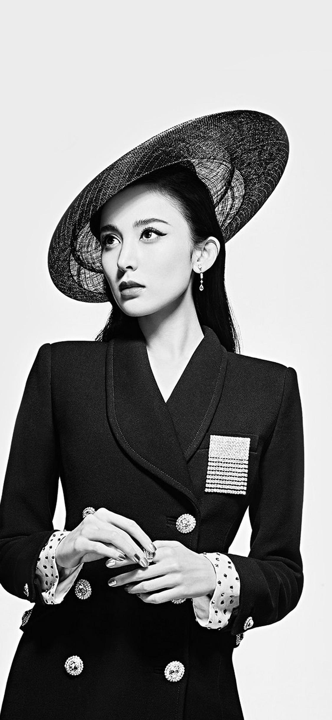 iPhonexpapers.com-Apple-iPhone-wallpaper-ht01-asian-girl-bw-model-film