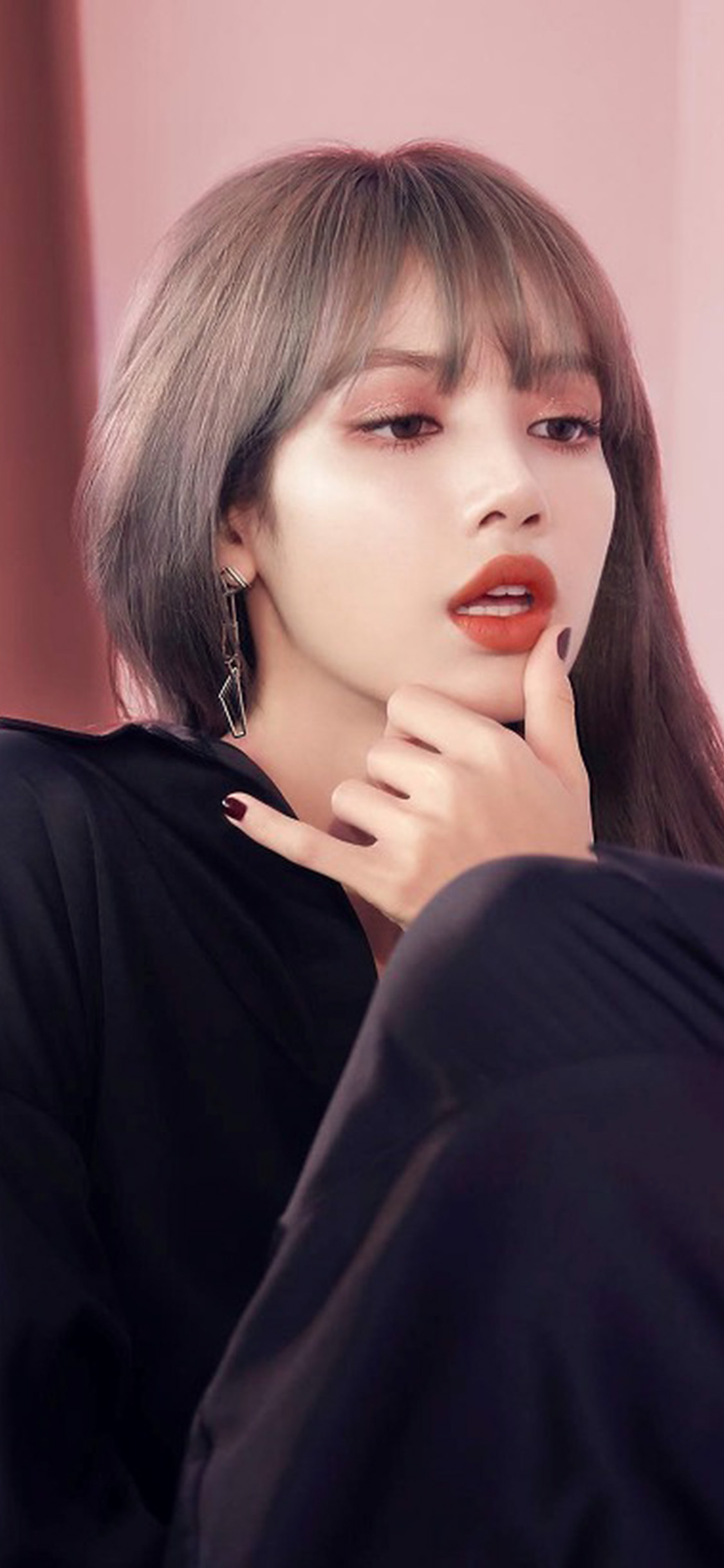 Iphone11papers Com Iphone11 Wallpaper Ht50 Blackpink Girl Idol Lisa