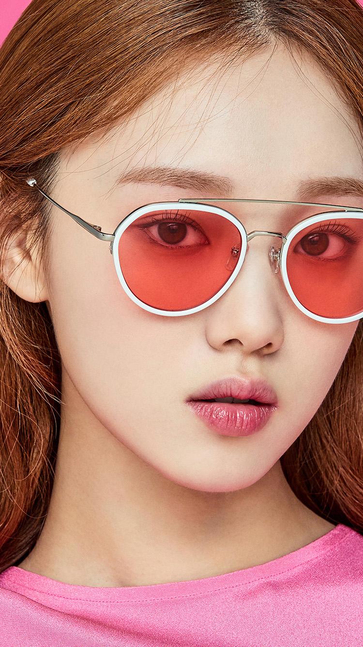 iPhone7papers.com-Apple-iPhone7-iphone7plus-wallpaper-hu11-pink-kpop-girl-glasses