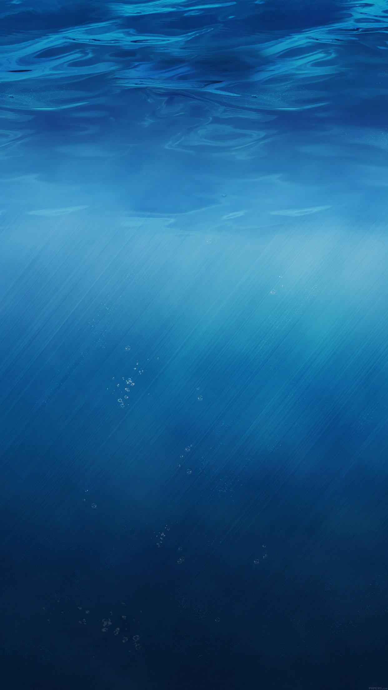 Ipapers Co Ma02 Ios8 Sea Nature Minimal