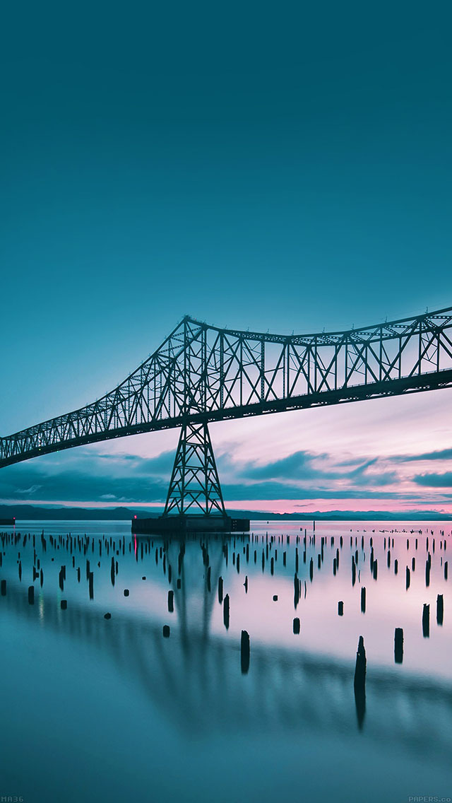freeios8.com-iphone-4-5-6-ipad-ios8-ma36-oregon-bridge-sea-nature