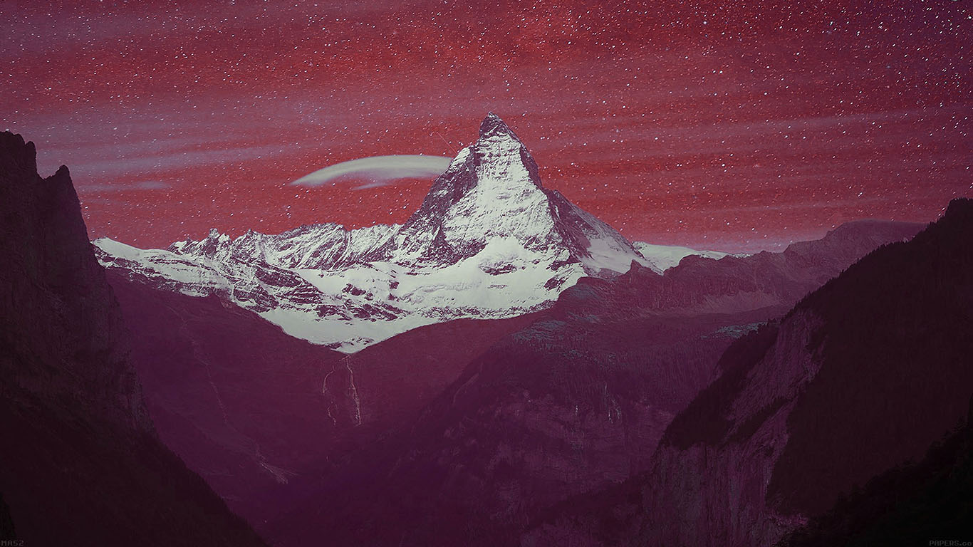 wallpaper-desktop-laptop-mac-macbook-ma52-purple-night-mountain-sky-nature-wallpaper