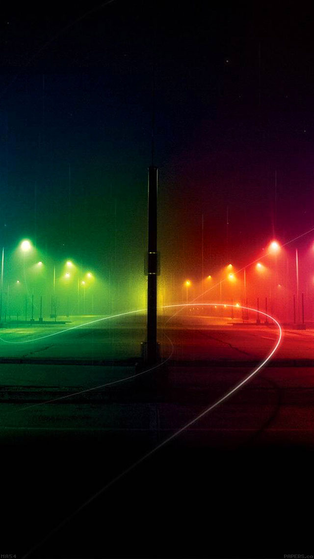 freeios8.com-iphone-4-5-6-ipad-ios8-ma54-rainbow-night-dark-nature