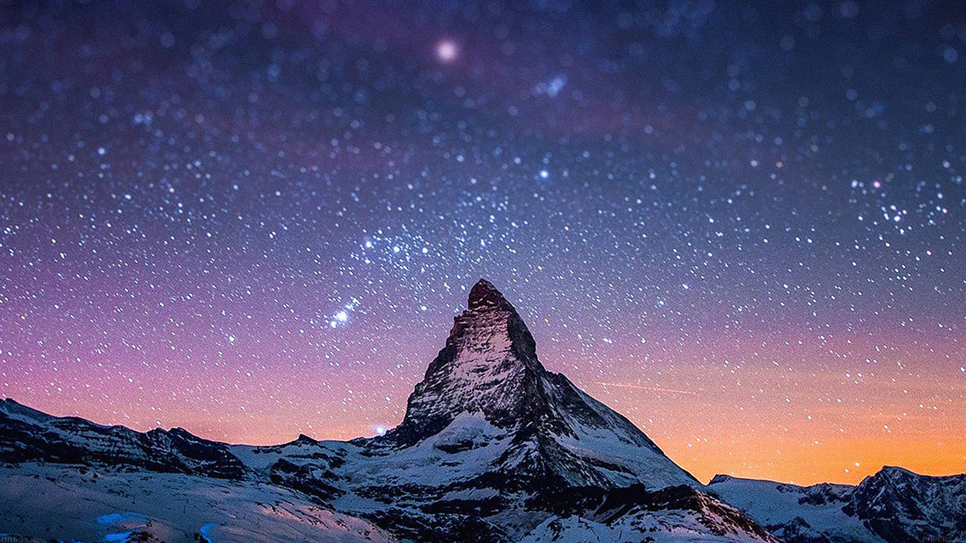 iPapers.co-Apple-iPhone-iPad-Macbook-iMac-wallpaper-ma69-night-stars-over-moutain-nature