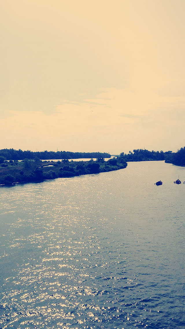 freeios8.com-iphone-4-5-6-ipad-ios8-ma72-nostalgia-river-sea-nature