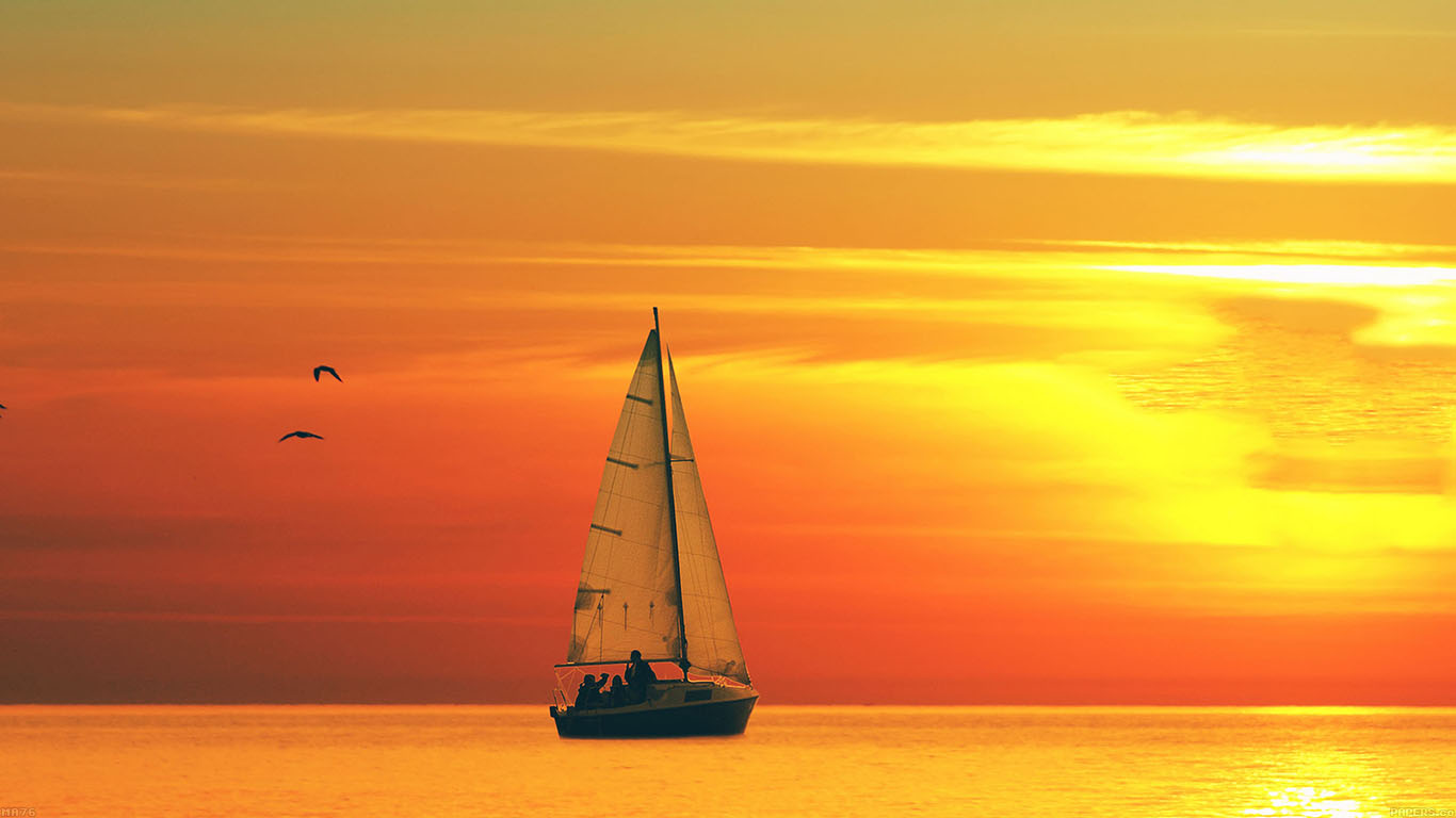 iPapers.co-Apple-iPhone-iPad-Macbook-iMac-wallpaper-ma76-boat-at-sunset-sea-nature