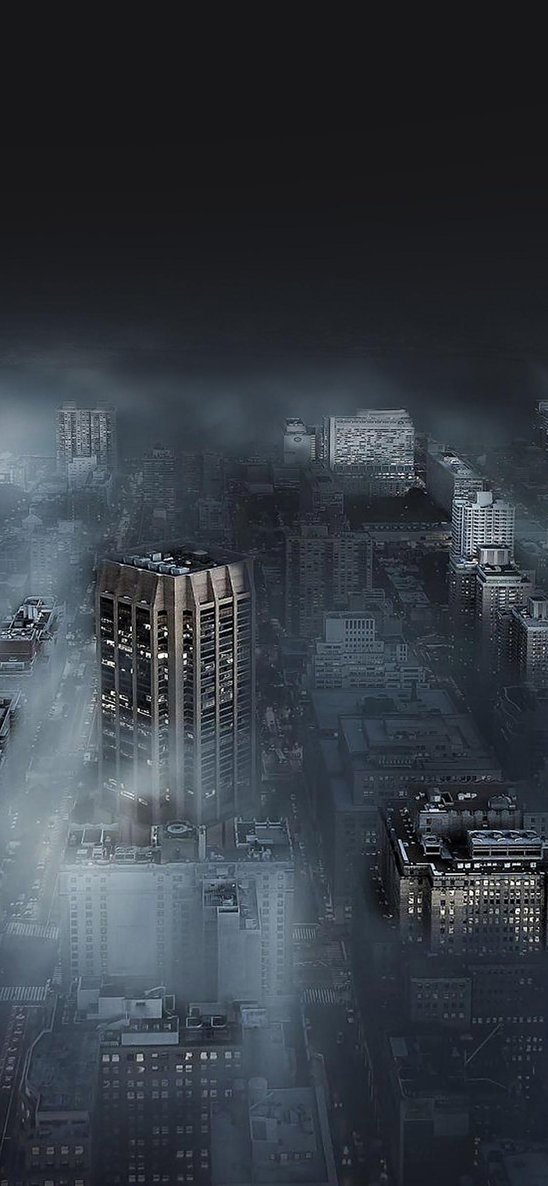 iPhoneXpapers.com-Apple-iPhone-wallpaper-ma80-dark-city-in-fog-nature