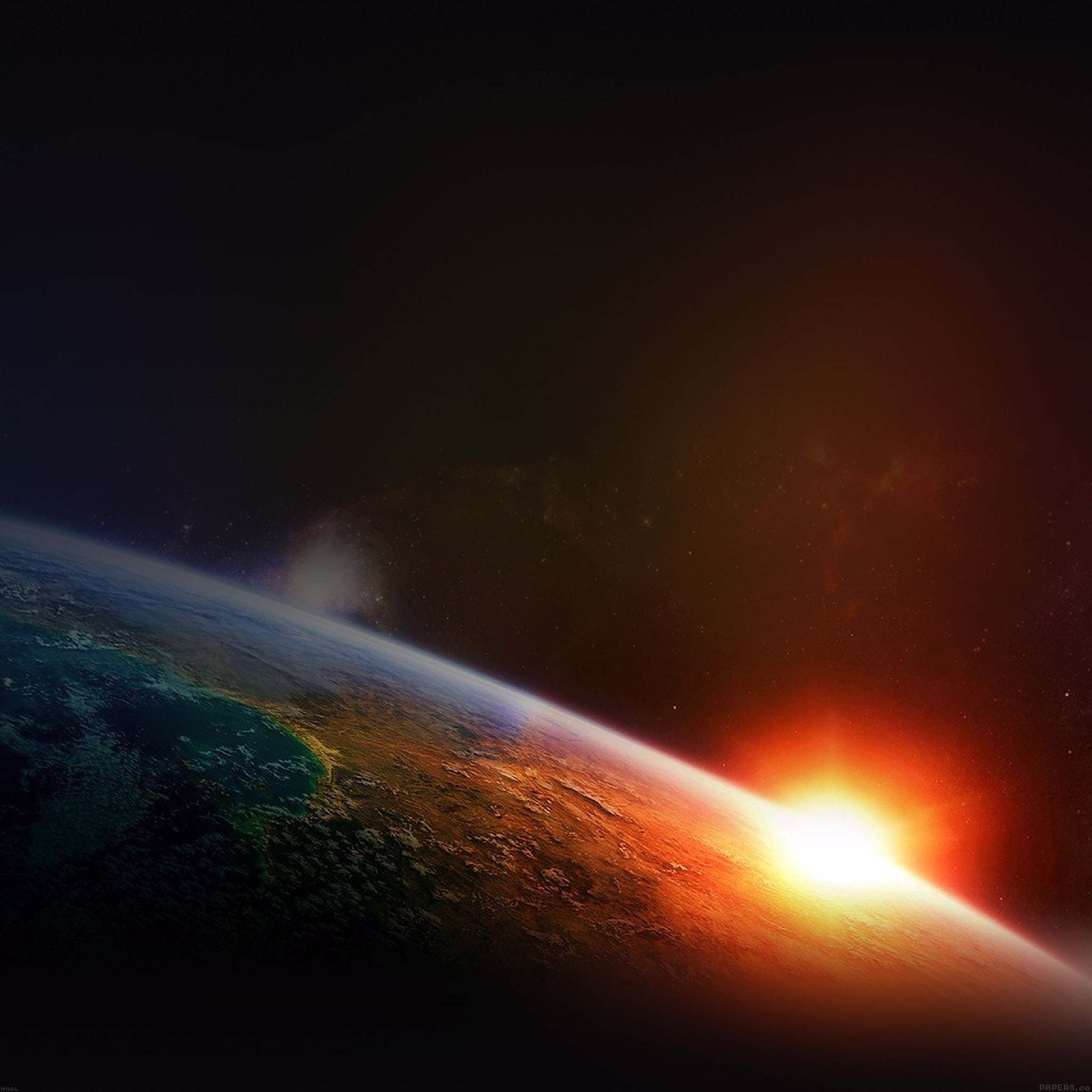 Ma86 earth cool space nature - Space iphone wallpaper retina ...