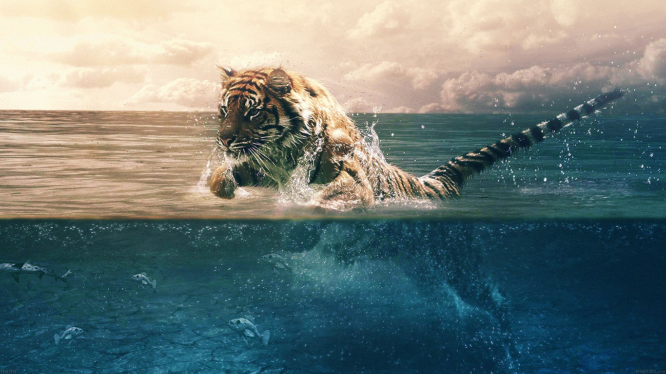 iPapers.co-Apple-iPhone-iPad-Macbook-iMac-wallpaper-ma95-tiger-running-blue-sea-nature