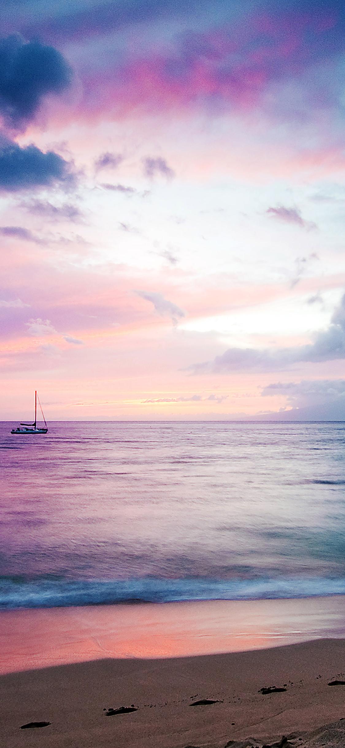 iPhoneXpapers.com-Apple-iPhone-wallpaper-mb06-wallpaper-dreamy-sea-boat-beach