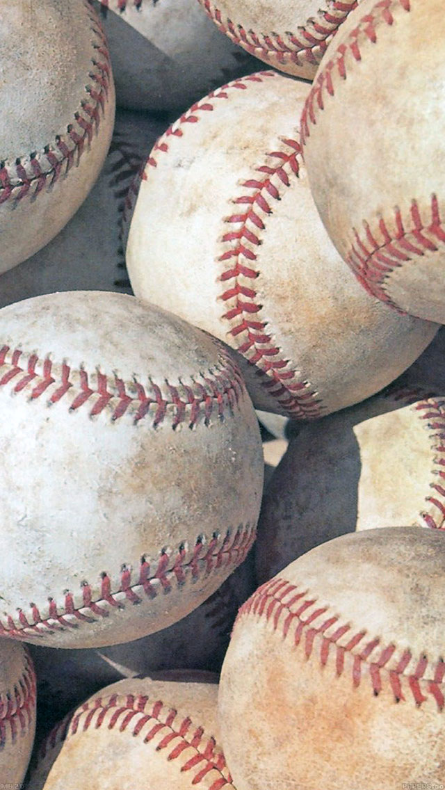 freeios8.com-iphone-4-5-6-ipad-ios8-mb20-wallpaper-baseball-and-baseballs-sports