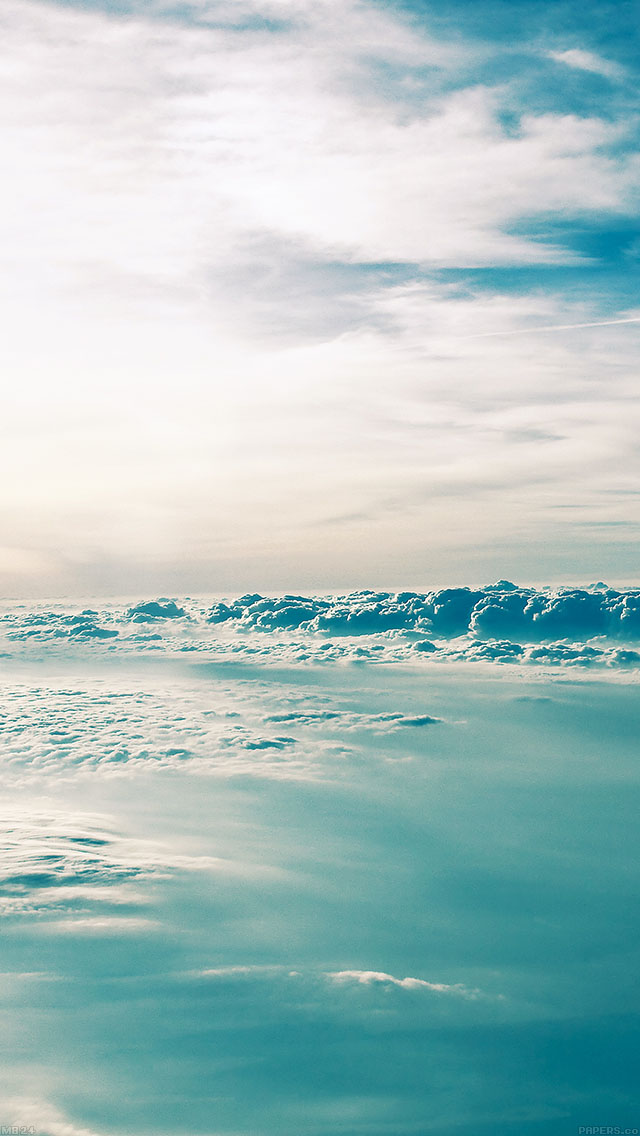 freeios8.com-iphone-4-5-6-ipad-ios8-mb24-wallpaper-cloud-above-2-sky