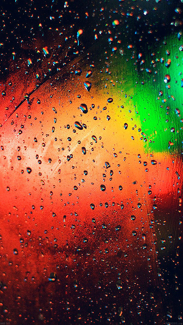 freeios8.com-iphone-4-5-6-ipad-ios8-mb30-wallpaper-faded-light-rain-bokeh