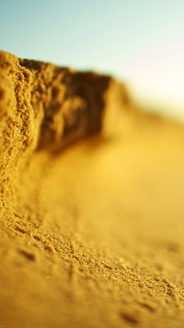 freeios8.com-iphone-4-5-6-ipad-ios8-mb35-wallpaper-golden-wave-sand