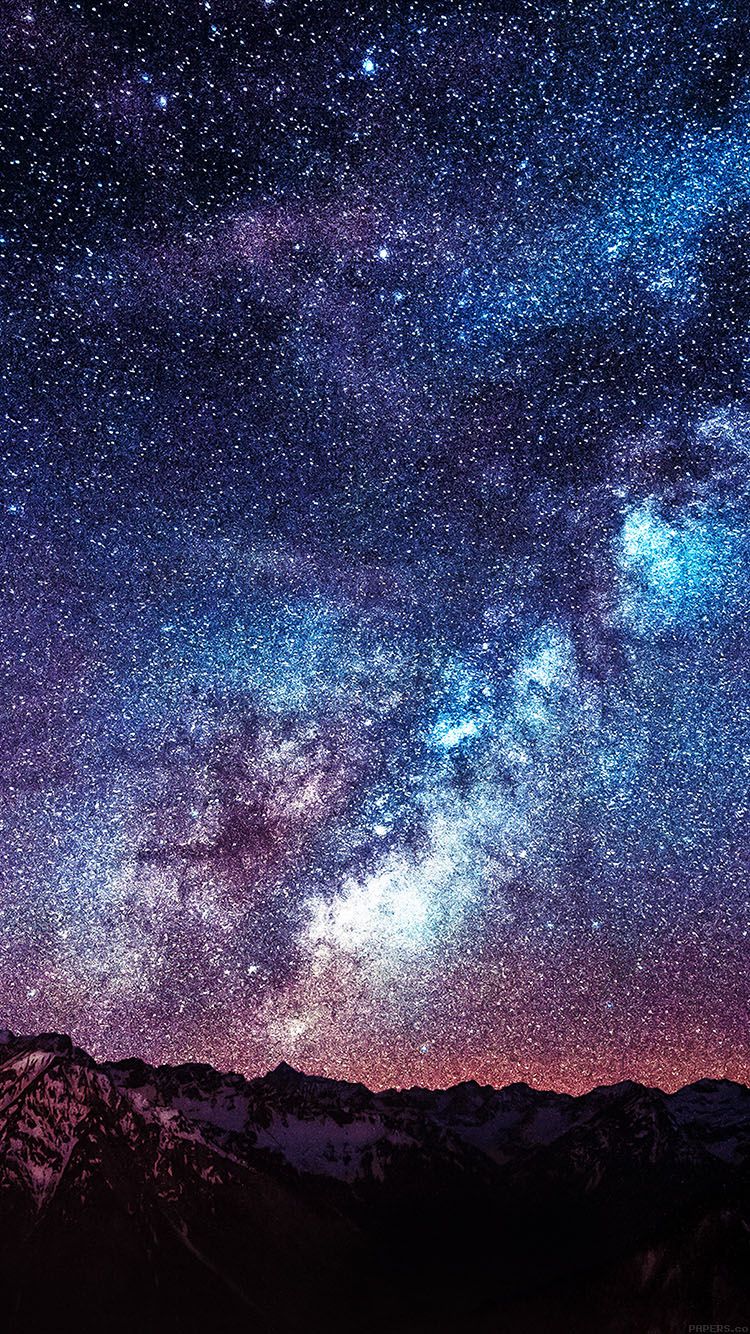 iPhonepapers.com-Apple-iPhone8-wallpaper-mb56-wallpaper-amazing-milkyway-space-mountain-red