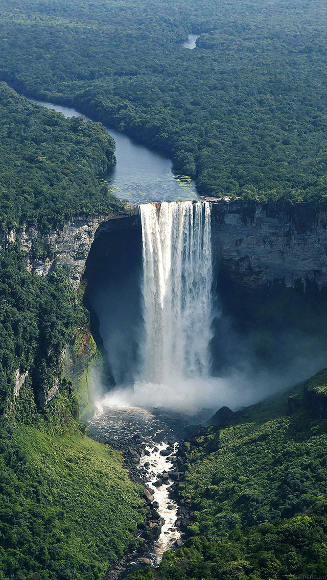 freeios8.com-iphone-4-5-6-ipad-ios8-mb73-wallpaper-water-falls-view