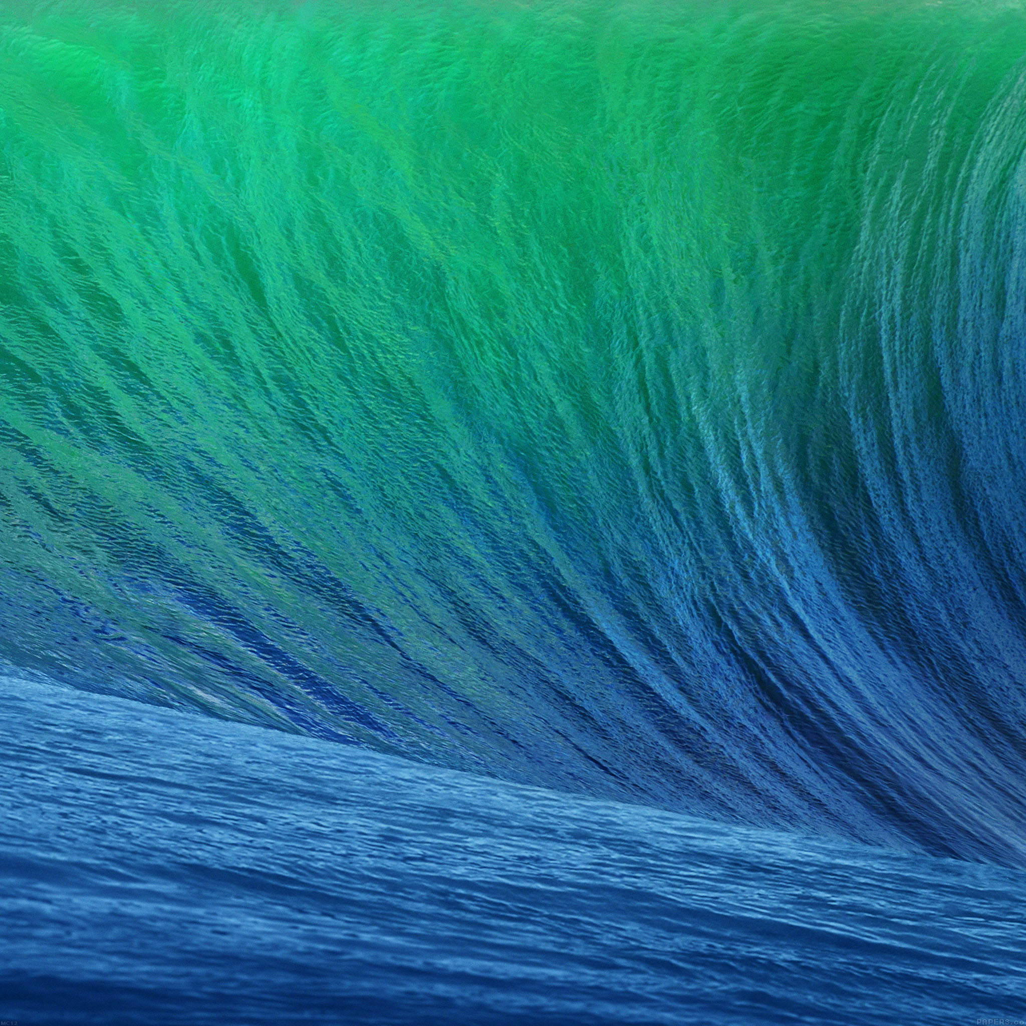 Mc12 Wallpaper Wave Apple Sea Wallpaper