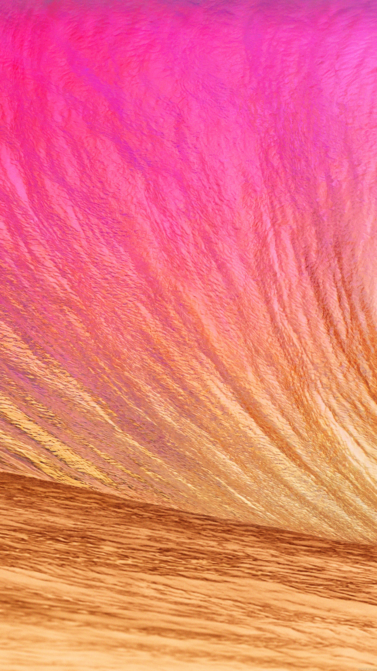 Iphone6papers Mc13 Wallpaper Gold Wave Apple Sea