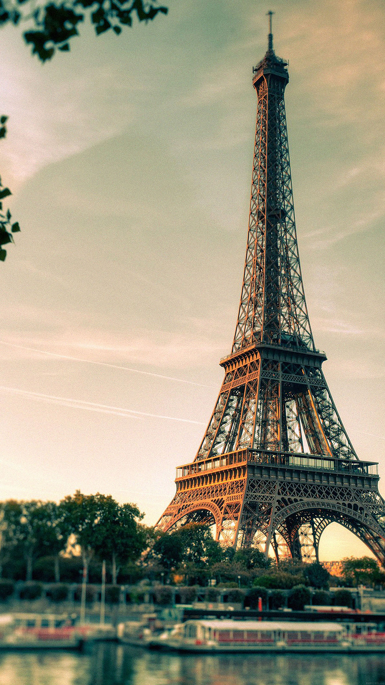 Iphone6papers Mc32 Wallpaper Eiffel Tower France City