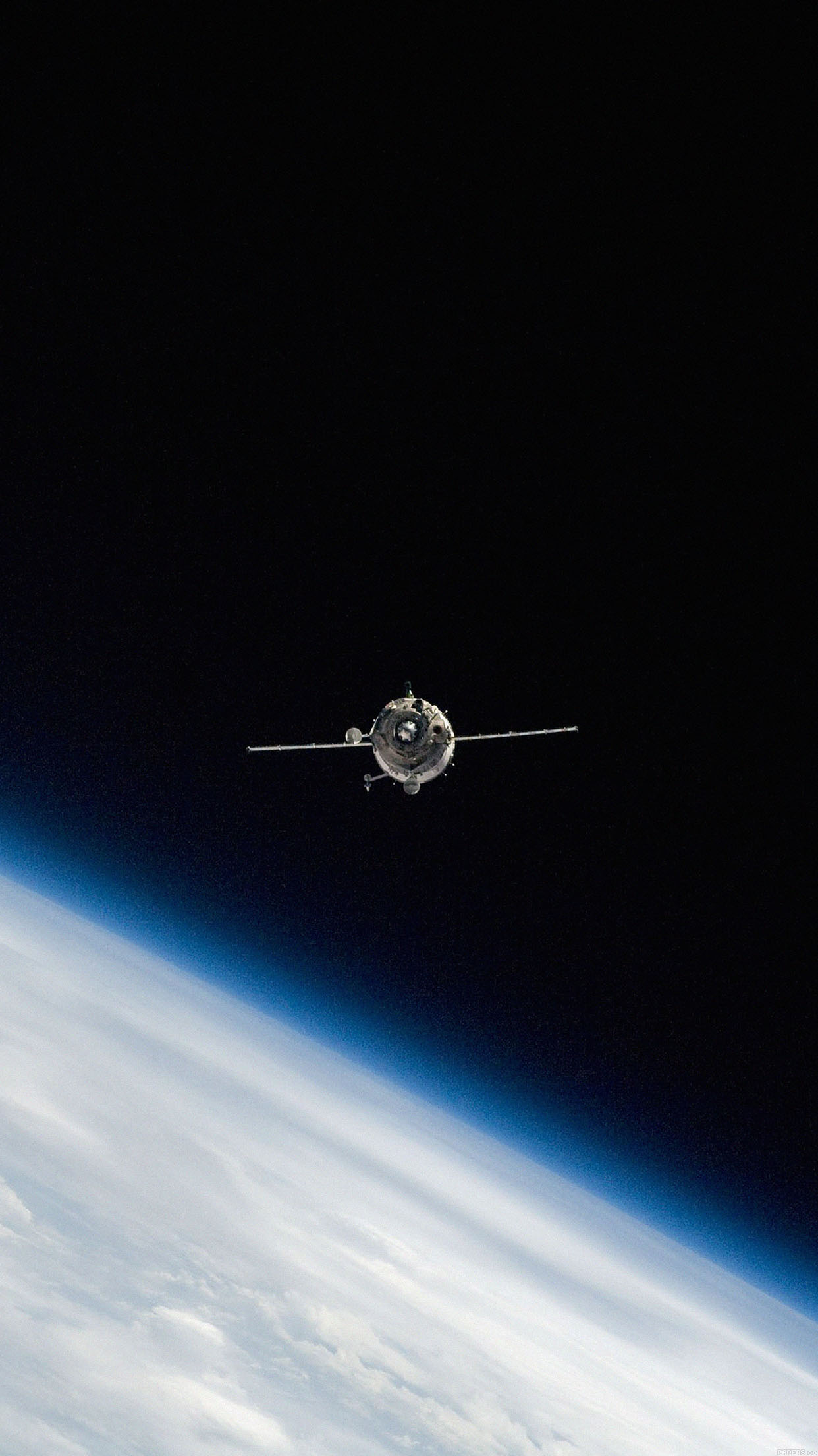 Mc40 Wallpaper Space Cosmos Satellite Earth Papers Co