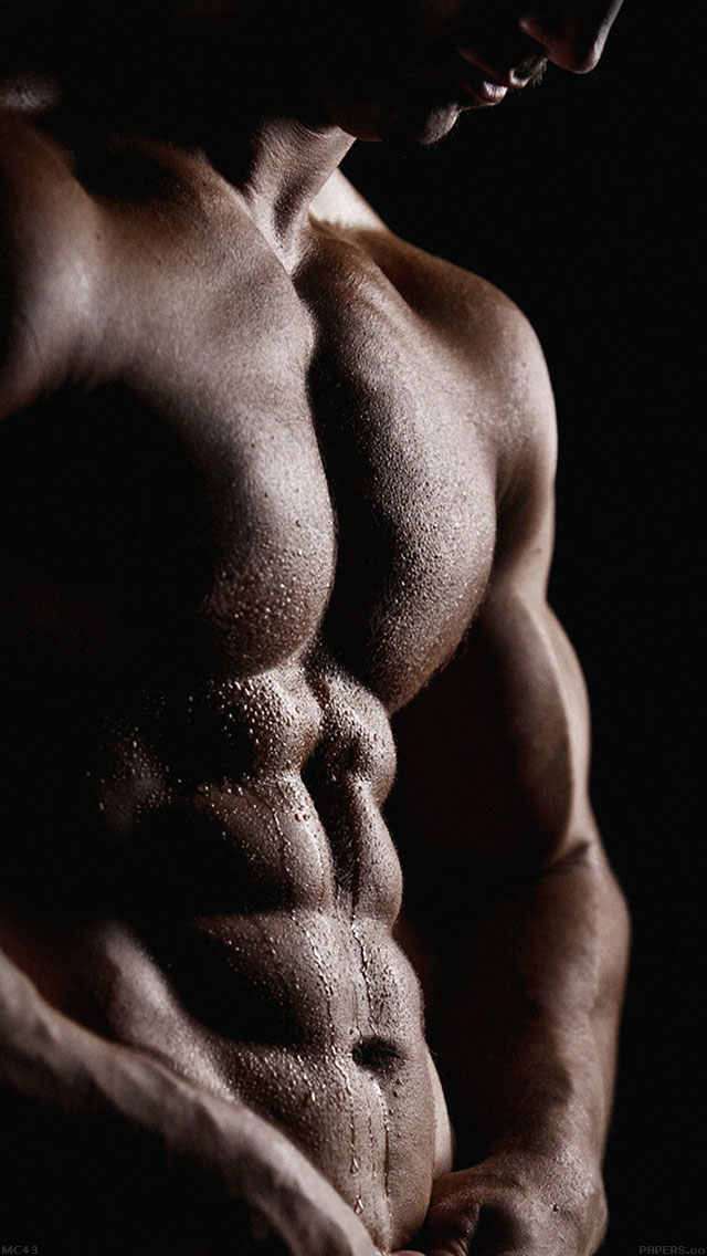 freeios8.com-iphone-4-5-6-ipad-ios8-mc43-wallpaper-man-body-muscle-dark