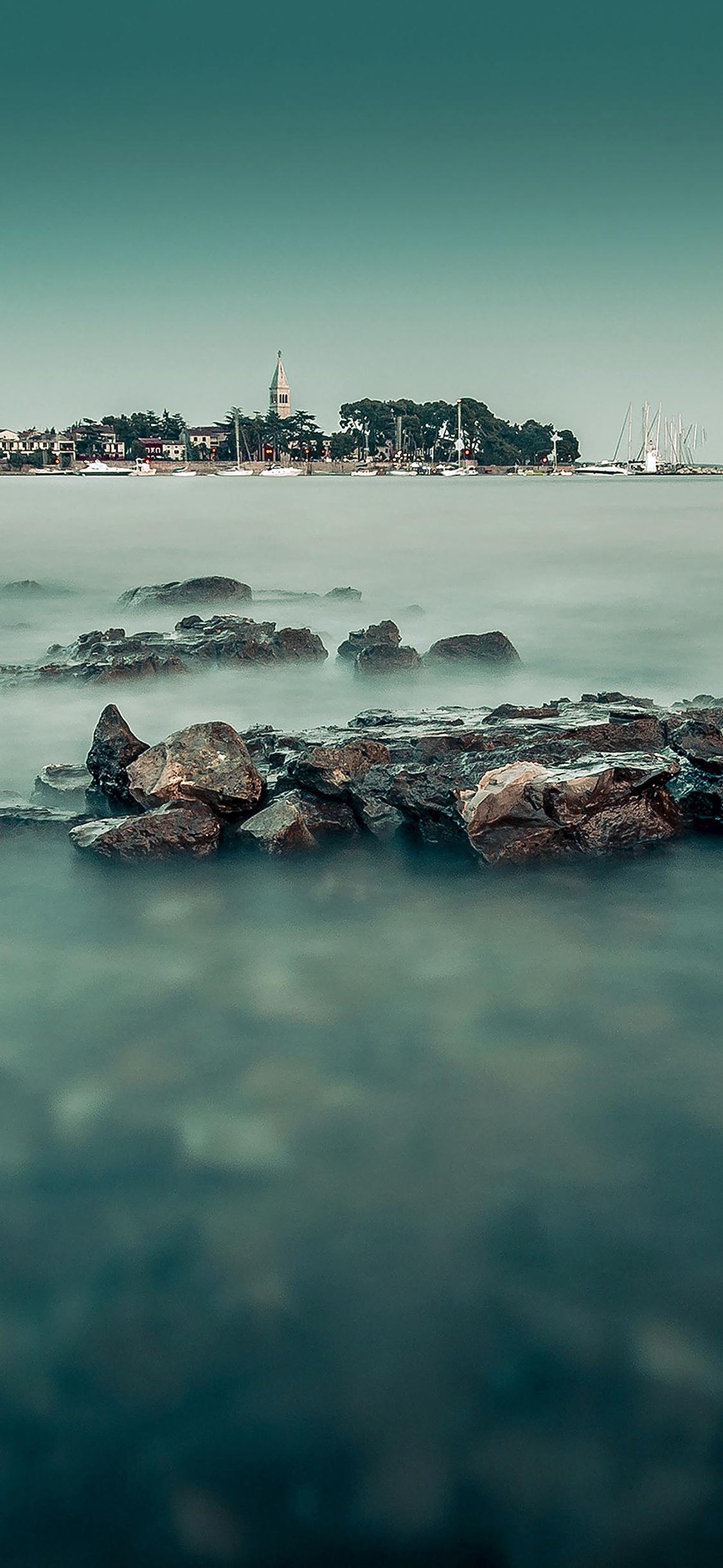 iPhoneXpapers.com-Apple-iPhone-wallpaper-mc48-wallpaper-foggy-island-sea
