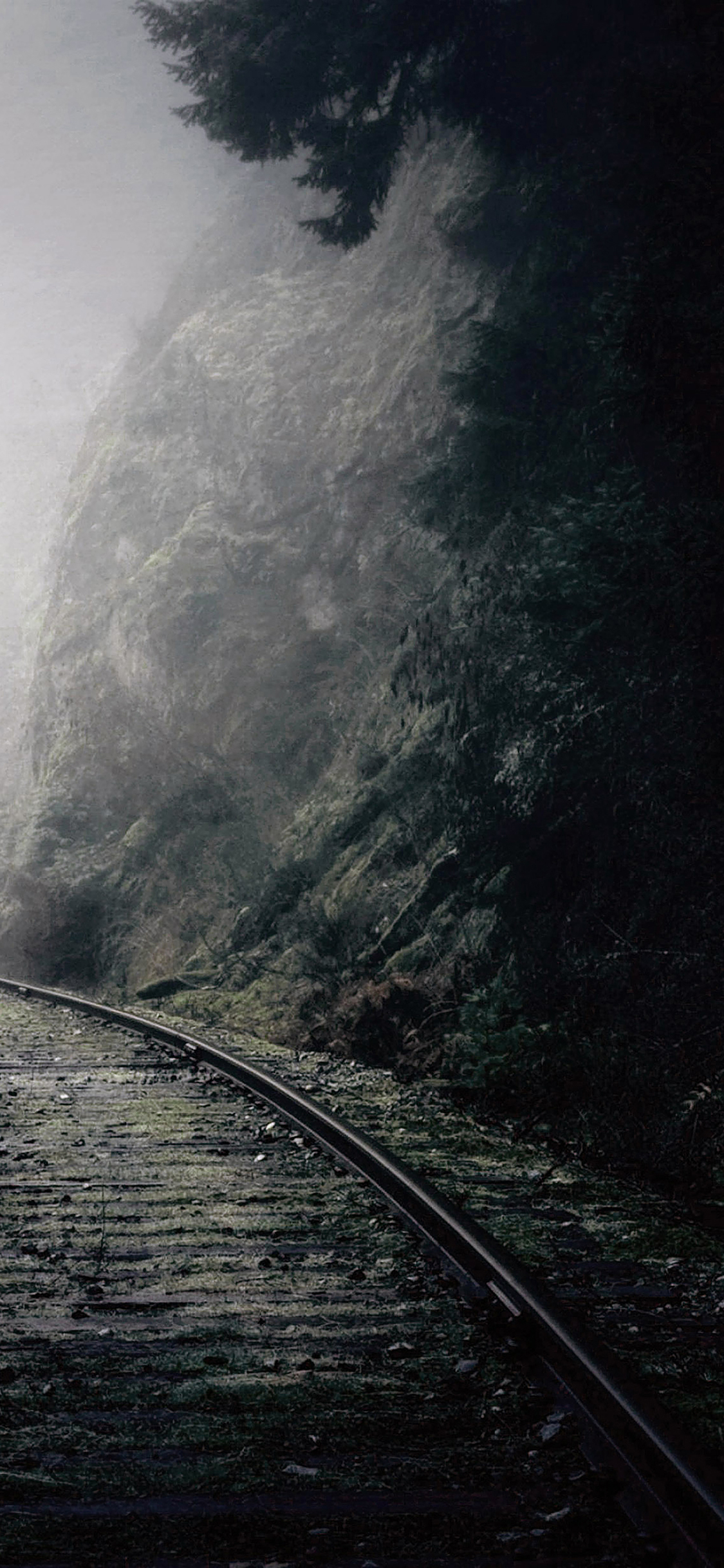 iPhoneXpapers.com-Apple-iPhone-wallpaper-mc49-wallpaper-mountain-foggy-road