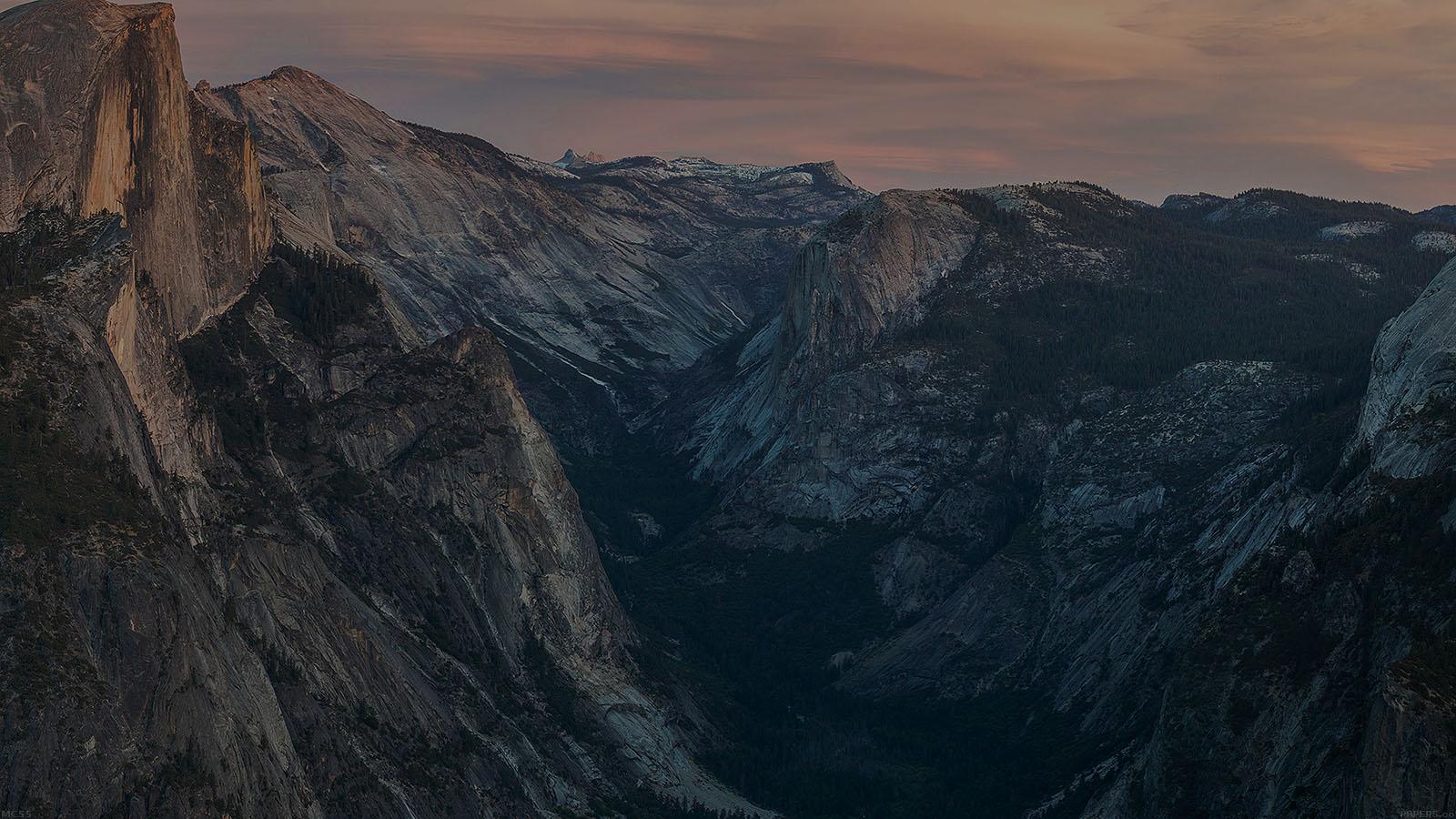 mc55-wallpaper-glacier-point-at-sunset-yosemite-dark-mountain - Papers.co
