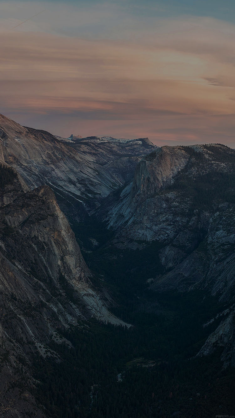 iPhonepapers.com-Apple-iPhone8-wallpaper-mc55-wallpaper-glacier-point-at-sunset-yosemite-dark-mountain