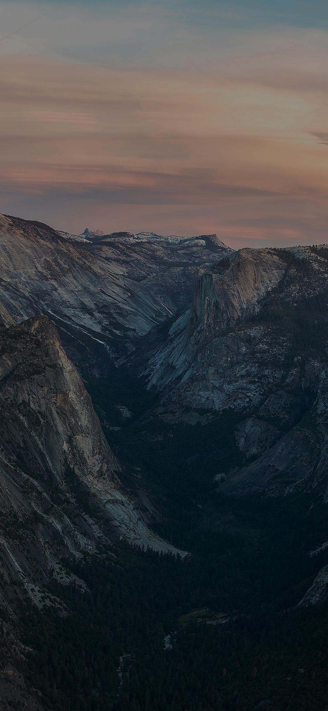 iPhoneXpapers.com-Apple-iPhone-wallpaper-mc55-wallpaper-glacier-point-at-sunset-yosemite-dark-mountain