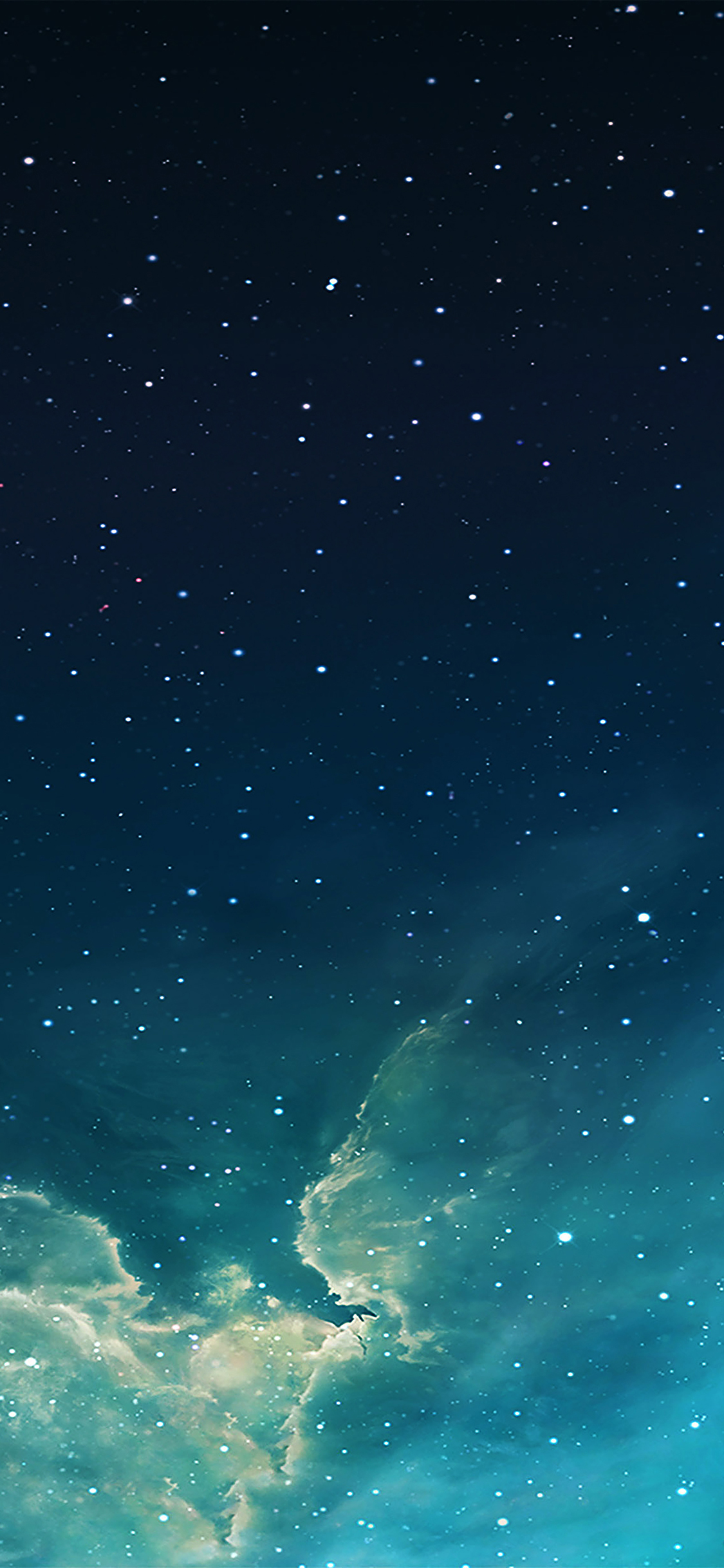 Mc56 Wallpaper Galaxy Blue 7 Starry Star Sky Wallpaper