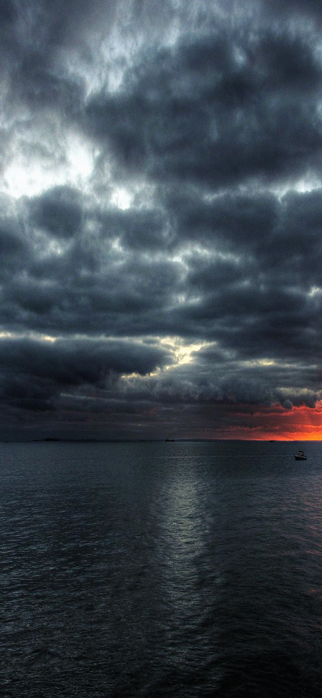 mc60-wallpaper-dark-sea-storm-night-ocean - Papers.co