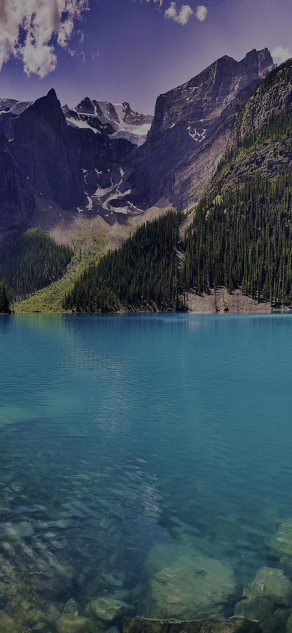 iPhoneXpapers.com-Apple-iPhone-wallpaper-mc64-wallpaper-green-dive-lake-river-nature-mountain-dark