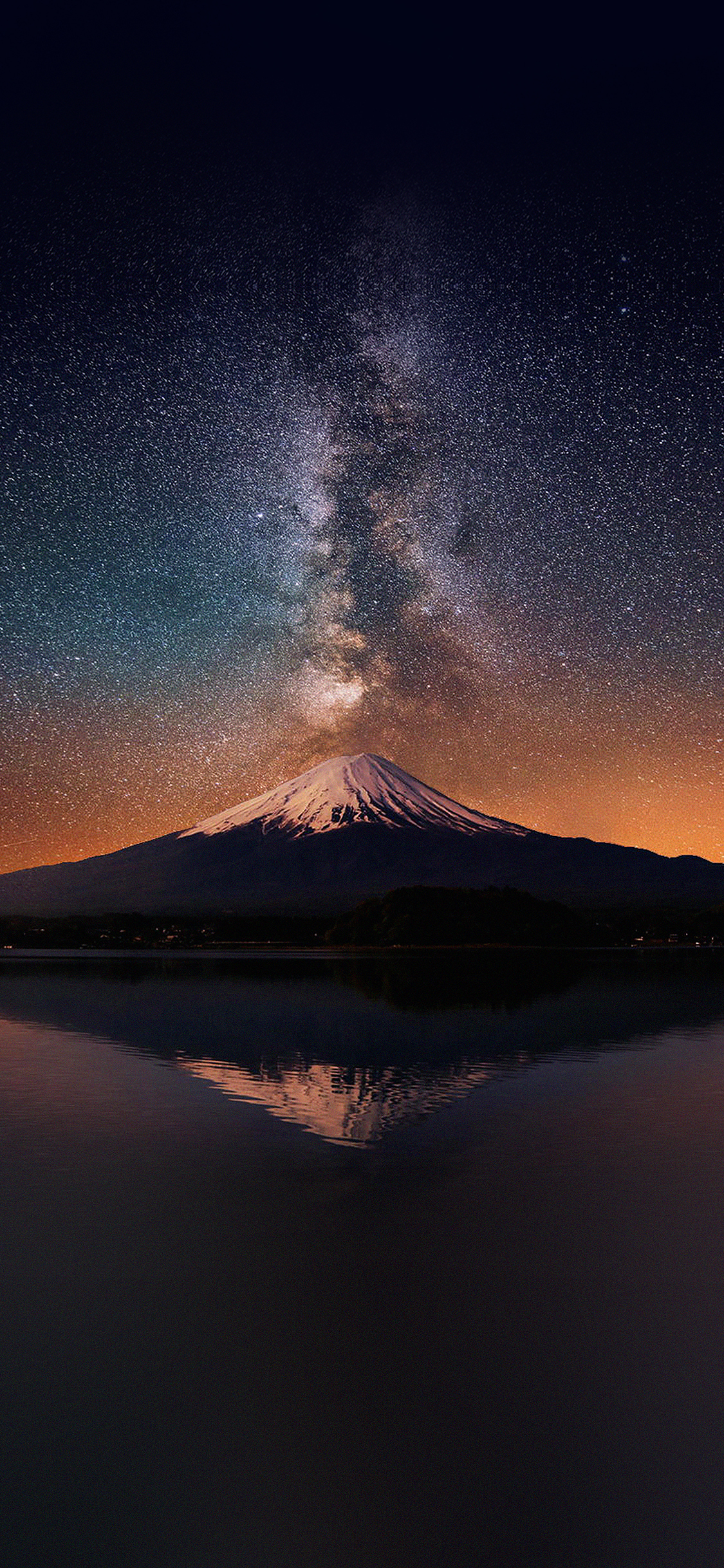 iPhoneXpapers.com-Apple-iPhone-wallpaper-mc68-wallpaper-milky-way-on-mountain-fuji-sky