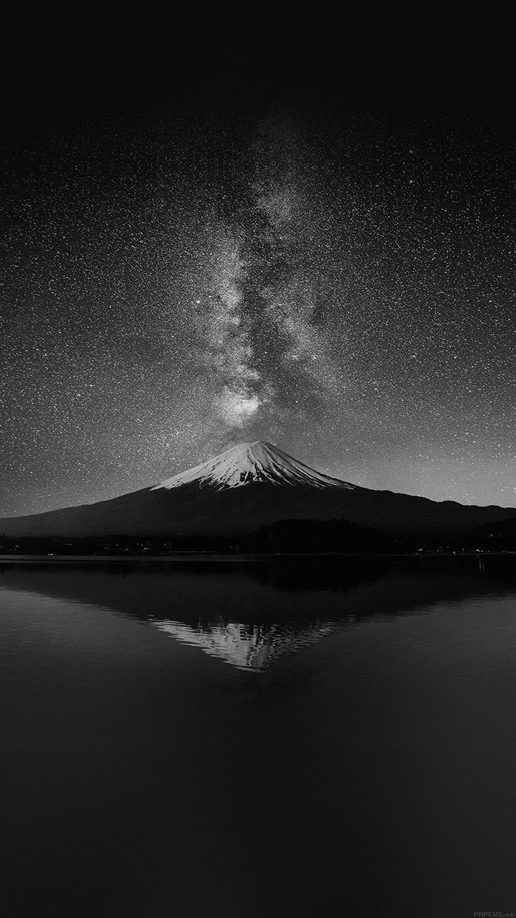 iPhone6papers.co-Apple-iPhone-6-iphone6-plus-wallpaper-mc71-wallpaper-milky-way-on-black-mountain-fuji-sky