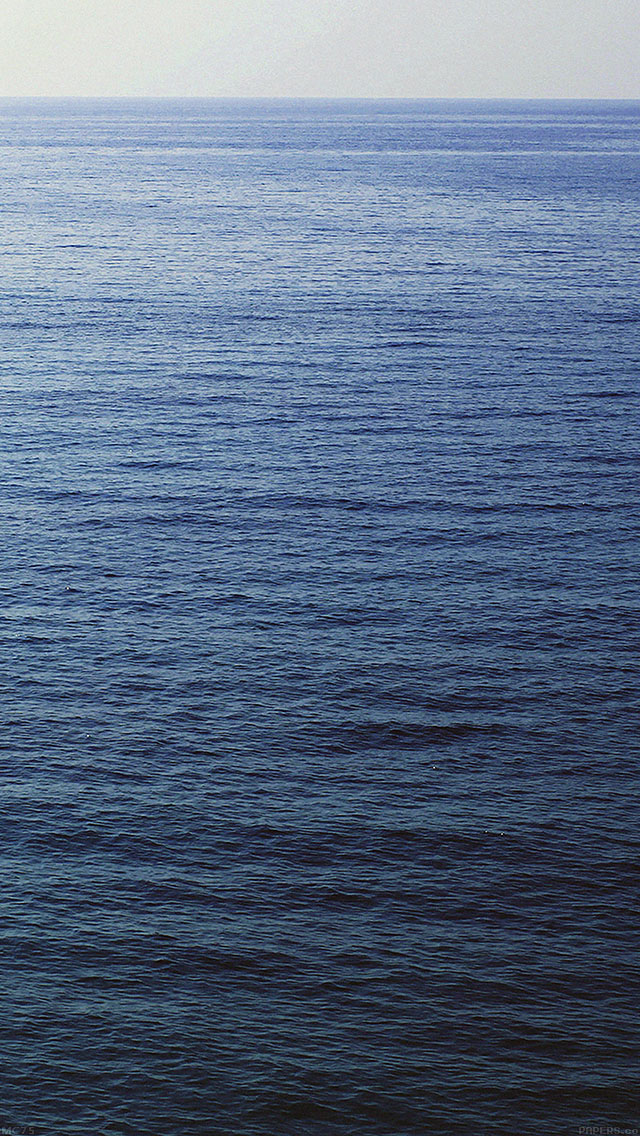 freeios8.com-iphone-4-5-6-ipad-ios8-mc75-wallpaper-back-to-sea-dark-blue-minimal