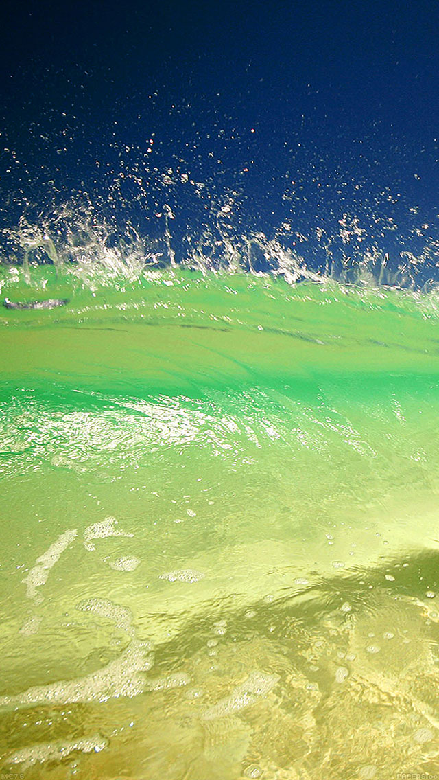 freeios8.com-iphone-4-5-6-ipad-ios8-mc76-wallpaper-beach-waves