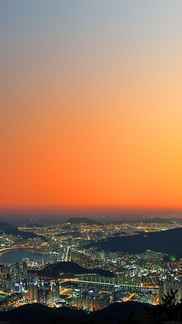 freeios8.com-iphone-4-5-6-ipad-ios8-mc85-wallpaper-busan-night-city