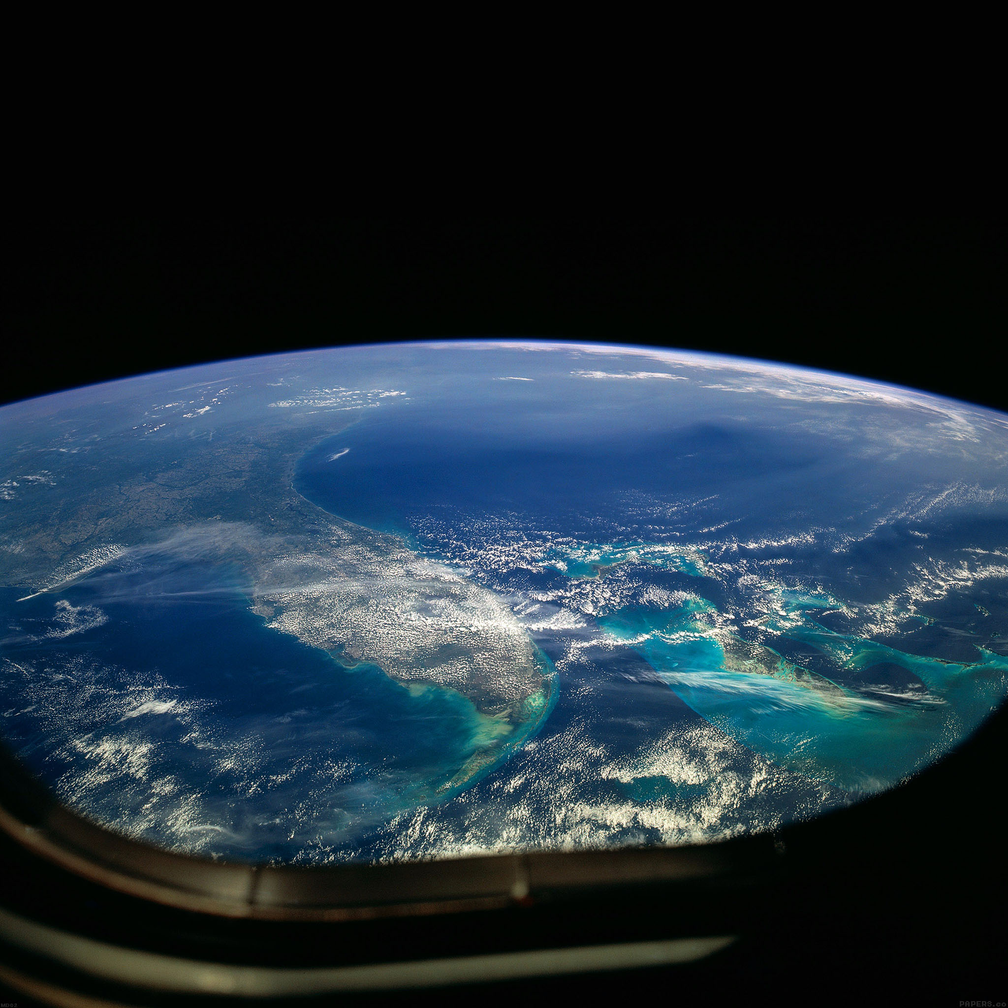 Desktop Wallpaper Earth From Space: Md02-wallpaper-alien-view-of-earth-space