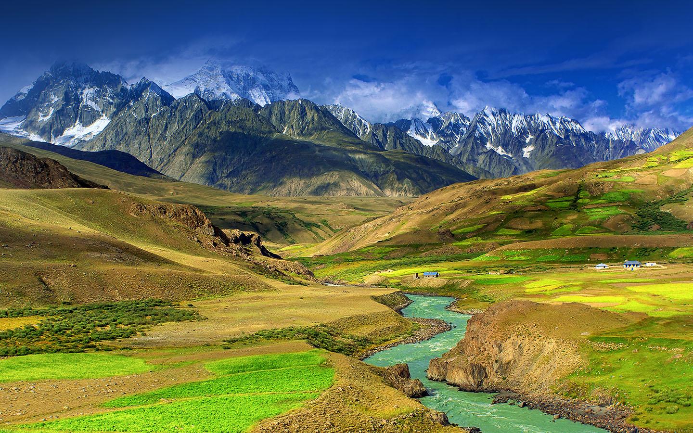 Ipad Hd Wallpaper Nature: Md23-wallpaper-nature-mountain-green-river