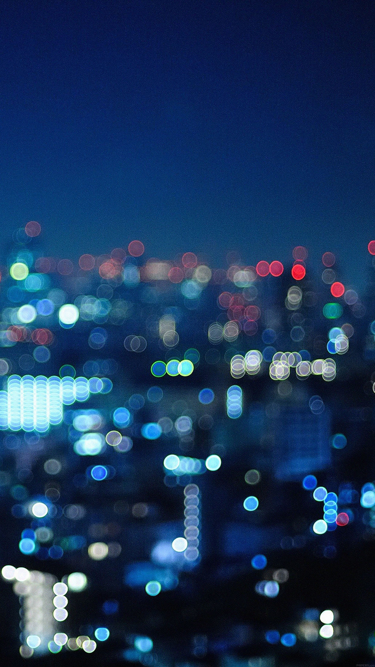 I Love Papers Md40 Wallpaper Crying City Night Bokeh