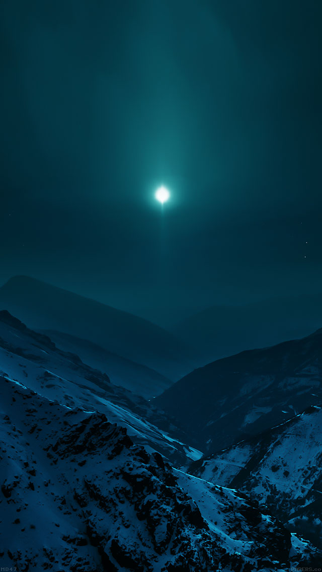 freeios8.com-iphone-4-5-6-plus-ipad-ios8-md47-wallpaper-nature-earth-asleep-mountain-night