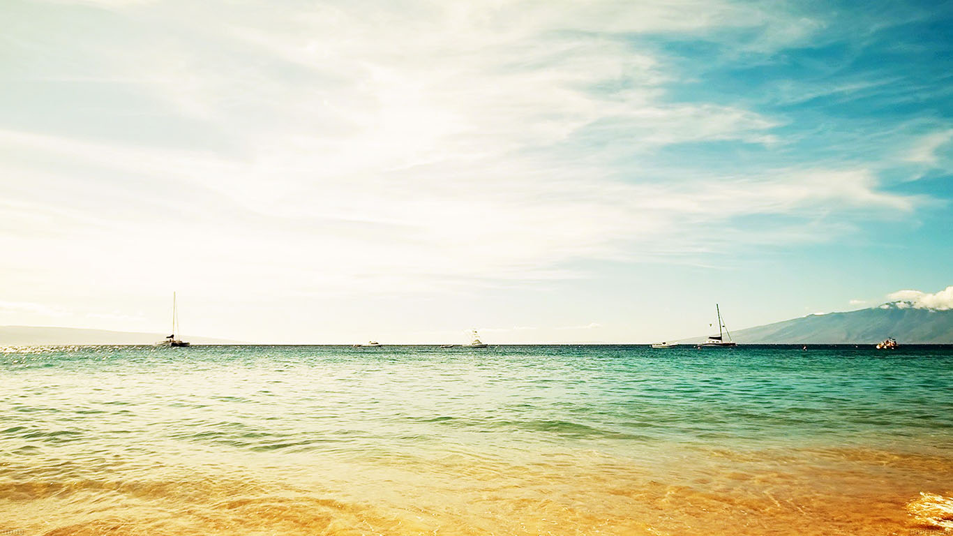 iPapers.co-Apple-iPhone-iPad-Macbook-iMac-wallpaper-md88-ocean-sea-yellow-beaches-boat-nature