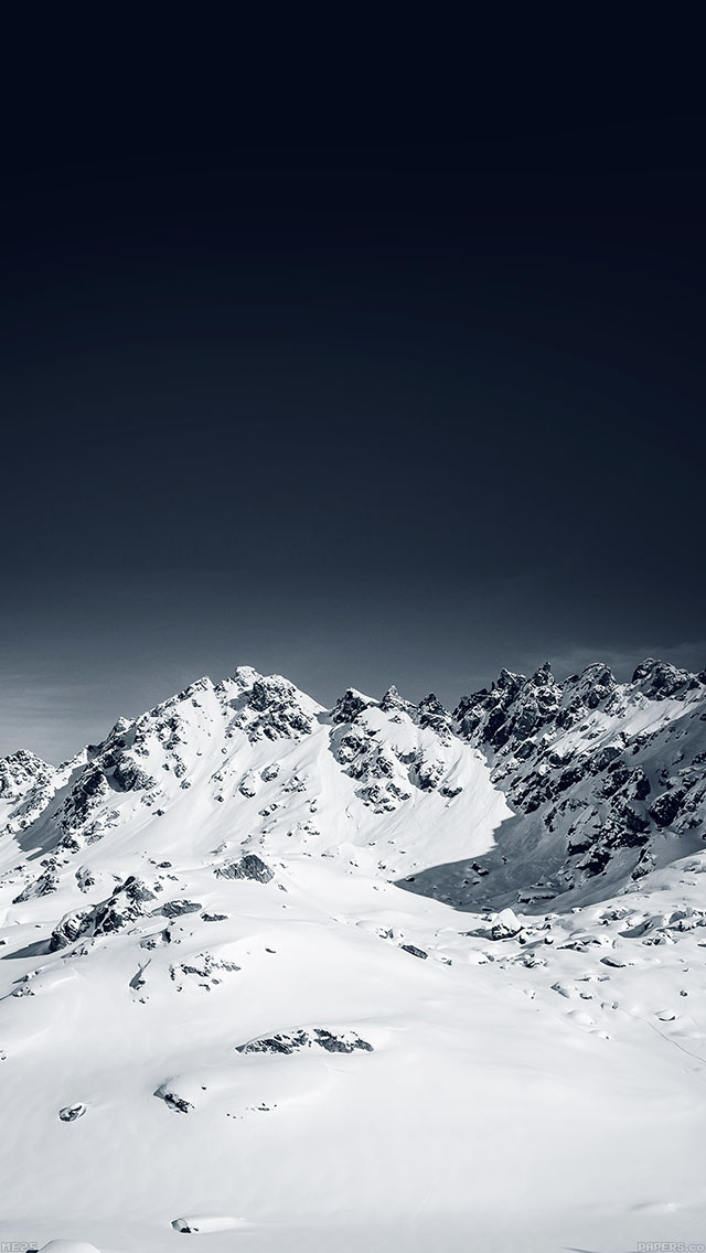 freeios8.com-iphone-4-5-6-ipad-ios8-me25-snow-mountain-lovers-nature