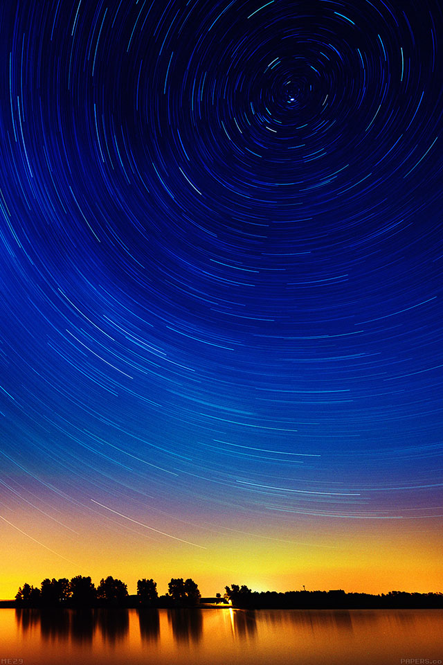 freeios7.com-iphone-4-iphone-5-ios7-wallpaperme29-star-gazing-night-on-red-lake-iphone4