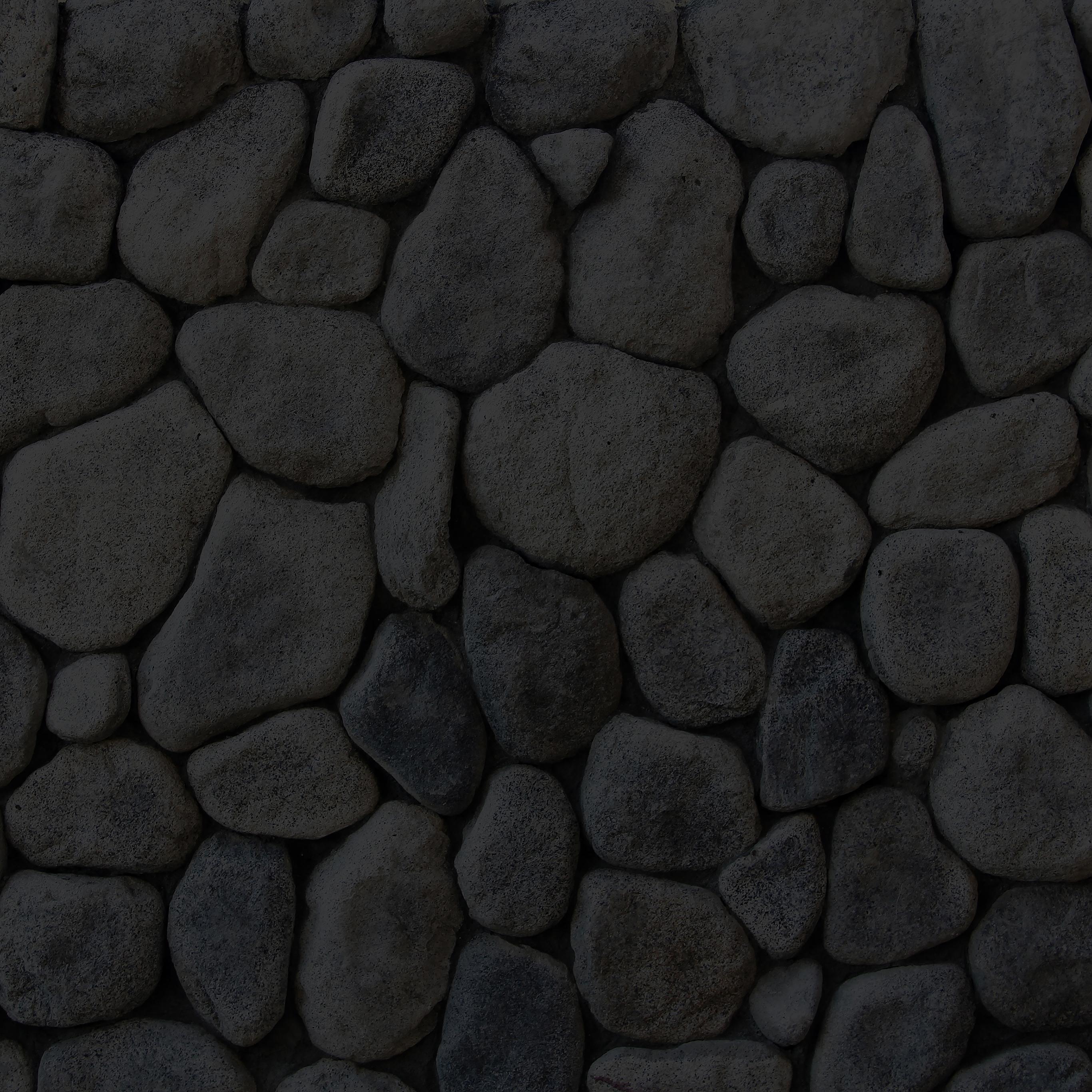 Me45 Stone Texture Dark Backwall