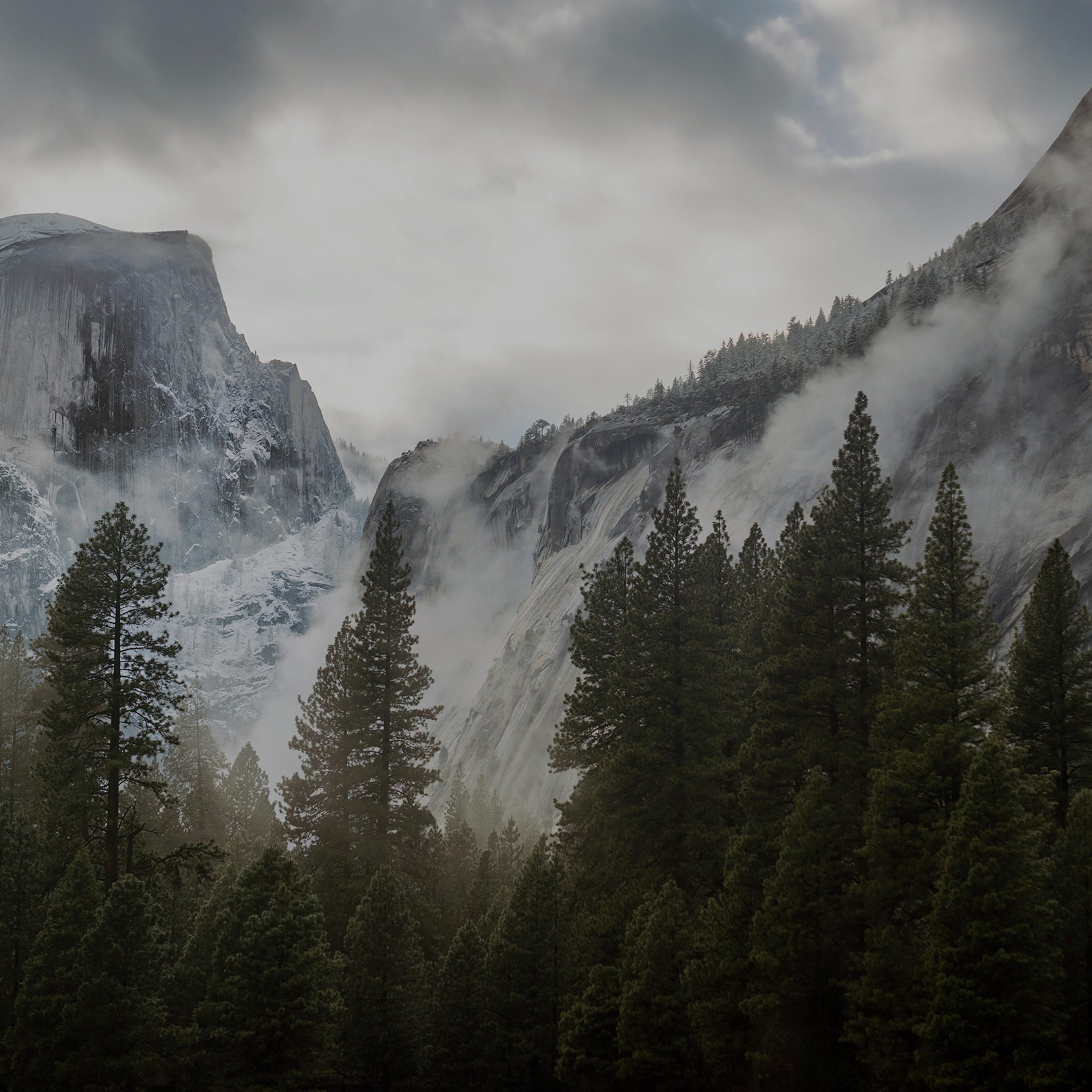 me59-yosemite-snow-dark-mountain-nature-wallpaper