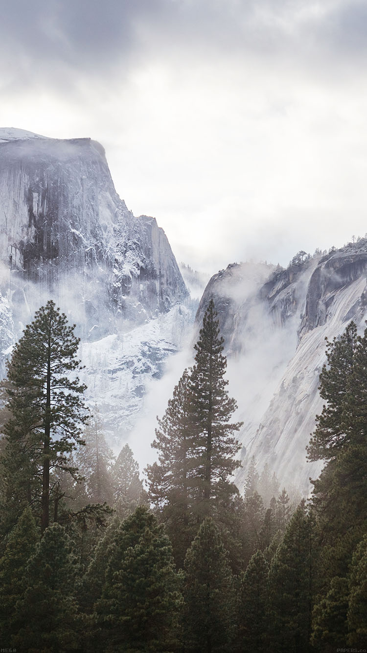 Papers.co-iPhone5-iphone6-plus-wallpaper-me60-yosemite-snow-white-mountain-nature