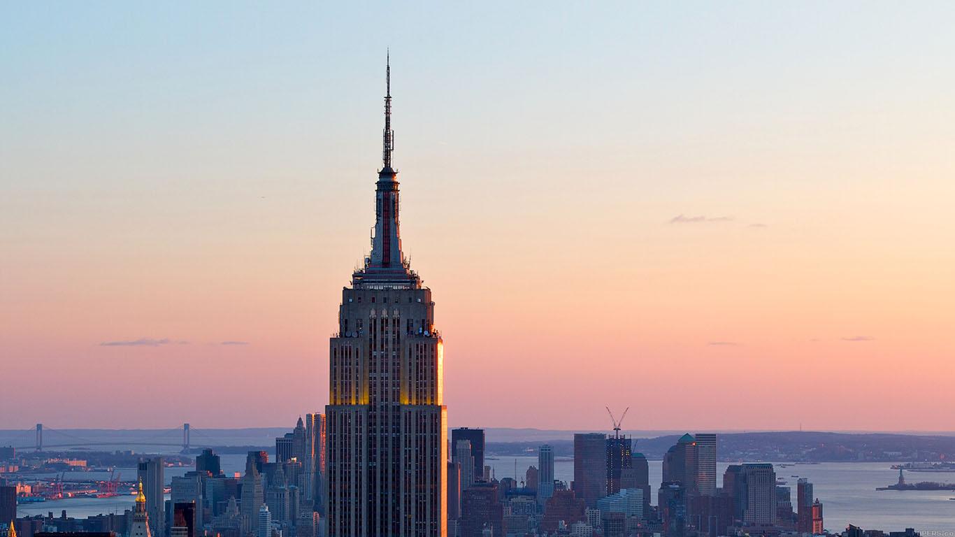 me71-dusk-new-york-skyline-city - Papers.co